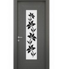 lotus patch design for door