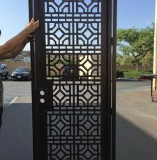 cnc main gate Squre rangoli jali design