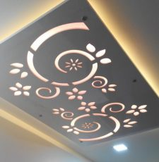 curl ceiling design