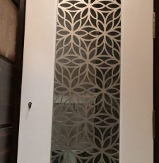 cnc plasma flower safety door