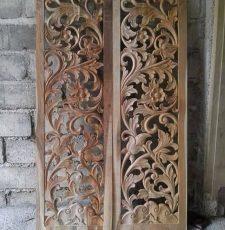 Wooden Carving Jali 3D Panel CNC Design
