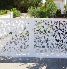 Butterfly cnc gate design