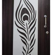 Feather safety door design