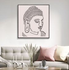 Gautam Budhha wall art design