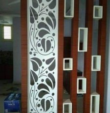 CNC Peepal pan leaf design