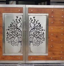 cnc metal gate tree design