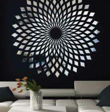 cnc wall art chakra design