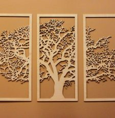 Tree Wall Hanging Vector Laser CNC Design