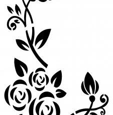 Flower Pattern Vector Laser CNC Design