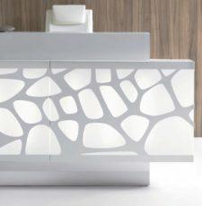 Reception Desks Table Vector CNC Design