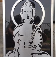 Meditating Budhha design