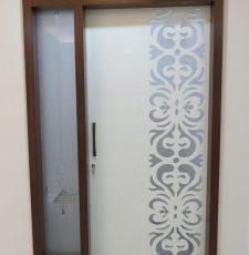 Corian exterior door design