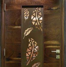 cnc leaf door design