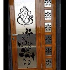 Ganpati plant metal gate design