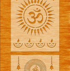 om temple invitation
