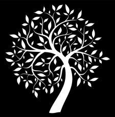 Tree CNC Jali Design Laser Vector File