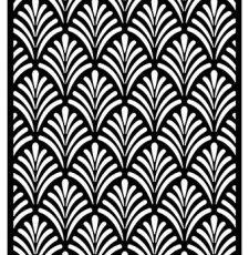 Partition Jali Pattern Laser CNC Design