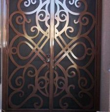 CNC metal main gate design
