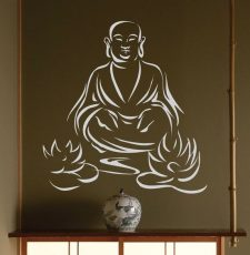 Laughing buddha design