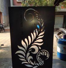 Curl stencils design