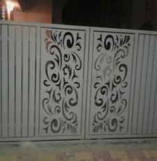 art metal gate design