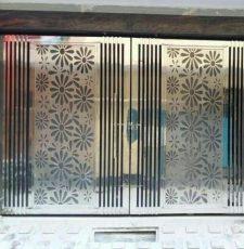 main gate flower pattern design