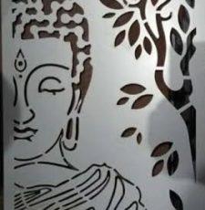gautam buddha cutting design