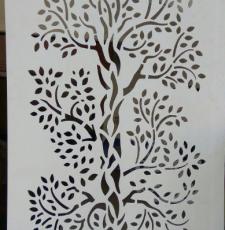 tree metal gate design
