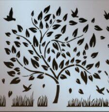 Tree and birds