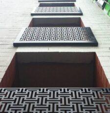 elevation decorative grill design