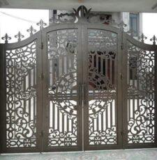 metal plate main gate design