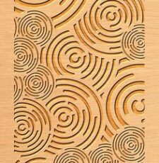 circuler pattern template gate design