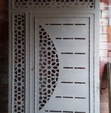 metal gate decorative design
