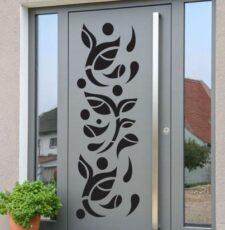 CNC curl main gate design