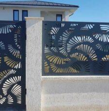 Curl waves gate &grill design
