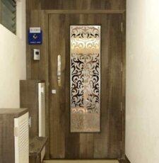 floral cnc door design