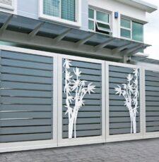 tree new metal gate design