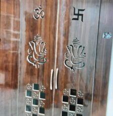 home temple door design