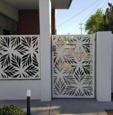 cnc leaf gate &grill design