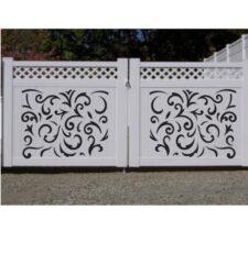 CNC plasma double gate design