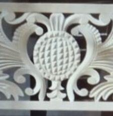 Stone Carving 3D Jali + 2D Vector CNC Design