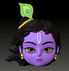 Krishna face
