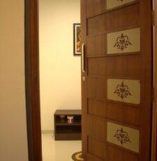 main hall door plate design