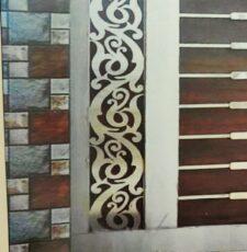 curl metal plate design
