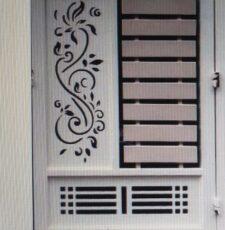 metal plate gate design