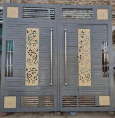new door flower design