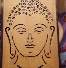 Budhha face art design