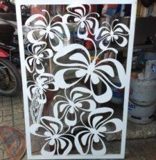 Butterfly cnc jali design