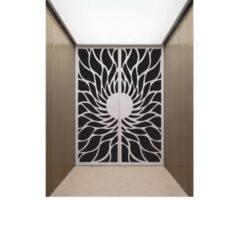 Half sun gate design