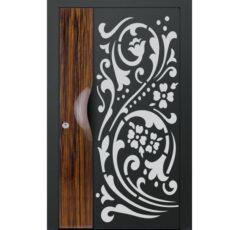 Arabic curl main gate design